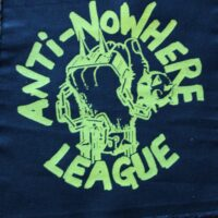 Anti-Nowhere League – Logo (Back Patch)