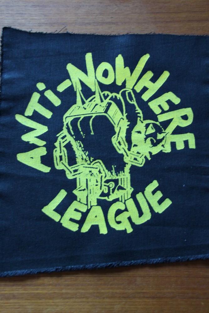 Anti-Nowhere League - Logo (Back Patch)