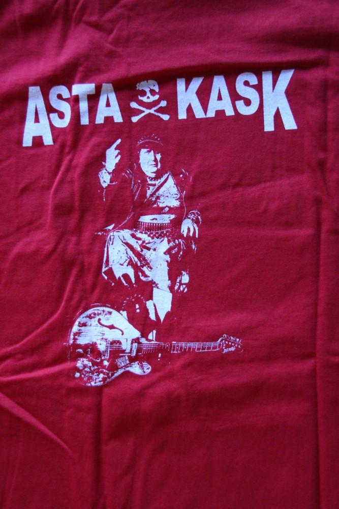 Asta Kask - Asta/Logo (Red T-S)
