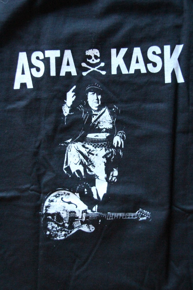 Asta Kask - Asta/Logo (Black T-S)