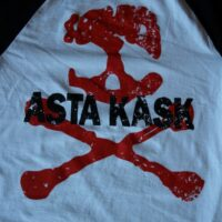Asta Kask – Rough Red Skull/Logo (Baseball-T)
