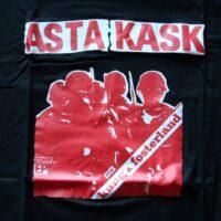 Asta Kask – För Kung &  Fosterland (Black T-S)