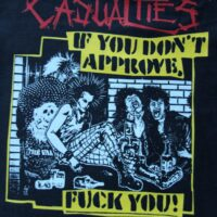 Casualties, The – Approve (Back Patch)