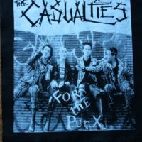 Casualties, The – For The Punx (Back Patch)