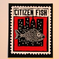 Citizen Fish – City/Fish (Sticker)