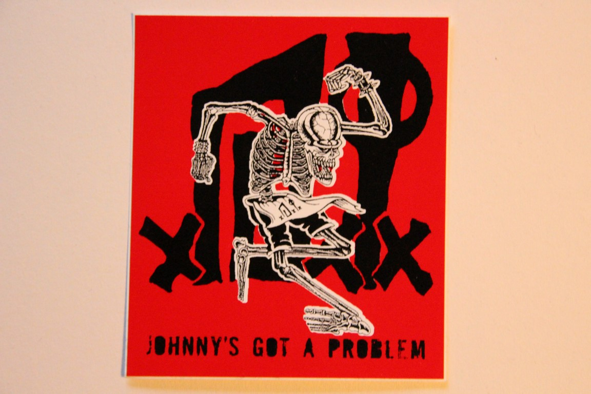 D.I. - Johnny´s Got A Problem (Sticker)