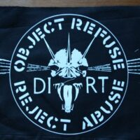 Dirt – Object Refuse (Back Patch)
