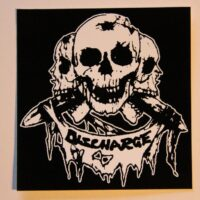 Discharge – Skulls (Sticker)