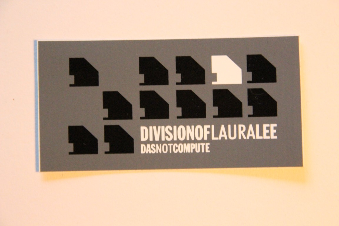 Division Of Laura Lee - Das Nor Compute (Sticker)