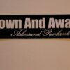 Down And Away - Logo (Sticker)