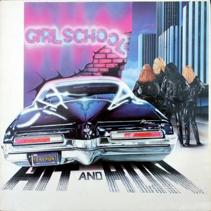 Girlschool ‎– Hit & Run (Vinyl LP)