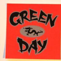 Green Day – Dragon/Logo (Sticker)