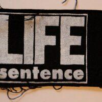 Life Sentence – Logo (Cloth Patch)