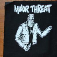 Minor Threat – Bottle (Back/Ryggpatch)