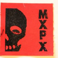 MxPx – Skull (Cloth Patch)