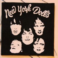 New York Dolls – Faces (Cloth Patch)