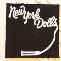 New York Dolls – Lipstick (Cloth Patch)