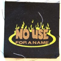 No Use For A Name – Flame (Cloth Patch)