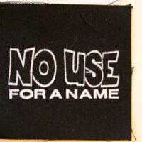 No Use For A Name – Logo (Cloth Patch)