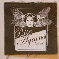 Rise Against – Brand (Cloth Patch)
