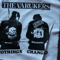 Varukers, The – Nothing Changes (Back/Ryggpatch)