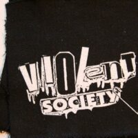 Violent Society – Logo (Cloth Patch)