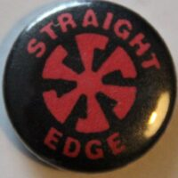 Straight Edge – Wheel (Badges)