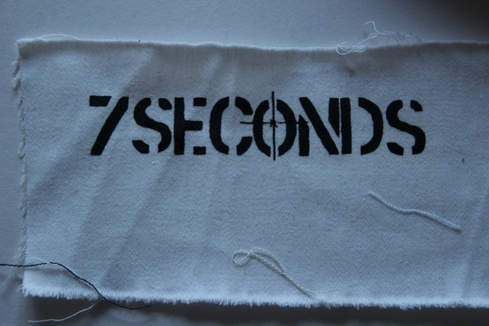 7 Seconds - Logo (Cloth Patch)