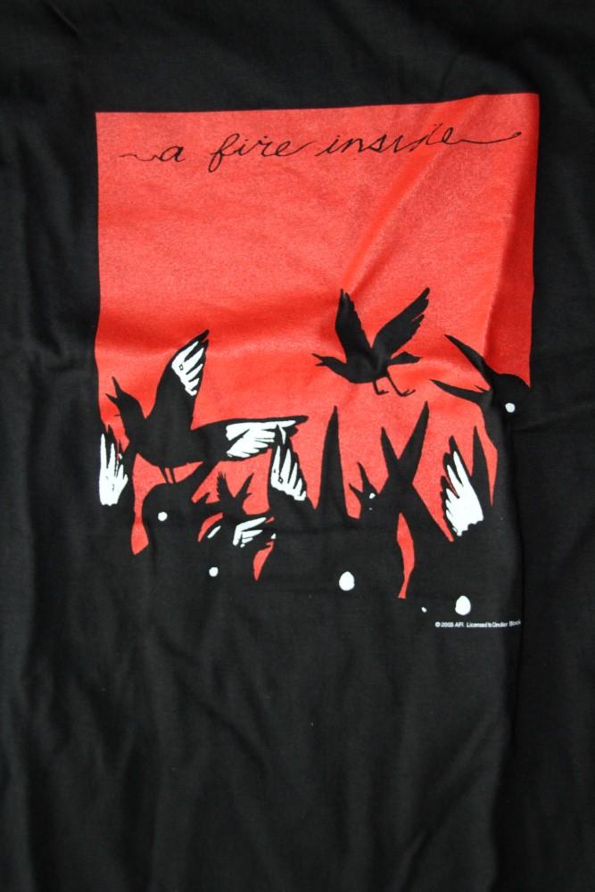 AFI - A Fire Inside/Birds (T-S)