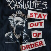 Casualties, The – Stay Out Of Order (Vintage/Used Worker Jacket)