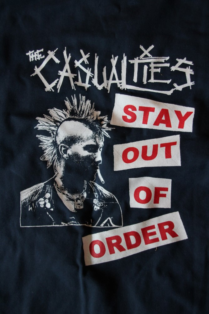 Casualties, The - Stay Out Of Order (Vintage/Used Worker Jacket)
