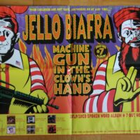 Jello Biafra – Machine Gun (Poster)