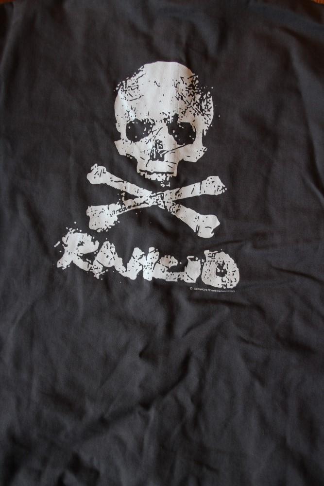 Rancid - Skull (Vintage/Used Worker Jacket)