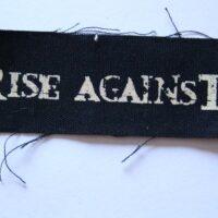 Rise Against – Logo (Cloth Patch)