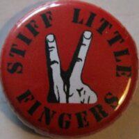 Stiff Little Fingers – Fingers (Badges)