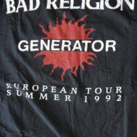 Bad Religion – Generator/Tour (Vintage/Used L-S)