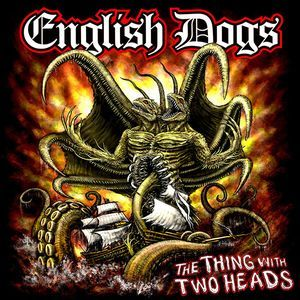 English Dogs ‎– The Thing With Two Heads (180gram Color Vinyl LP)
