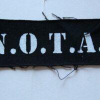 N.O.T.A. – Logo (Cloth Patch)