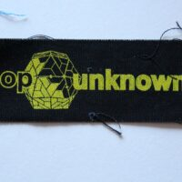 Pop Unknown – Logo (Cloth Patch)