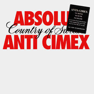 Anti Cimex - Absolut Country Of Sweden (Vinyl LP)