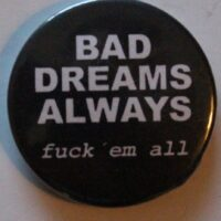 Bad Dreams Always – Logo (Badges)