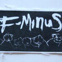 F-Minus – Logo (Cloth Patch)