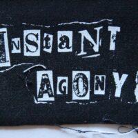 Instant Agony – Logo (Cloth Patch)