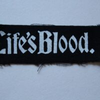 Life´s Blood – Logo (Cloth Patch)