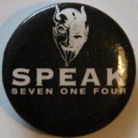 Speak 714 – White (Badges)