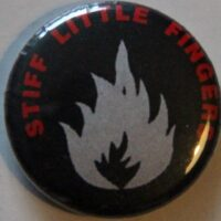 Stiff Little Fingers – Grey Flame (Badges)