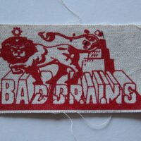 Bad Brains – Lion (Cloth Patch)