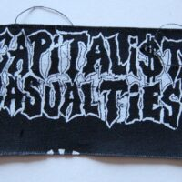 Capitalist Casualties – Logo (Cloth Patch)