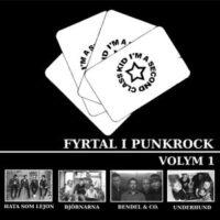 Fyrtal I Punkrock, Vol 1 – V/A (Vinyl LP)(Björnarna,Hata Som Lejon)