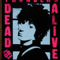 Johnny Thunders – Dead or Alive (Sticker)